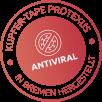 Медни стикери срещу вируси и бактерии Protexus
